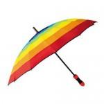 [밧소밀란] 60-14K 무지개 7색 장우산 (스폰지)