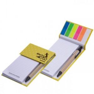 하드커버 오색필름 메모패드(점착메모지)